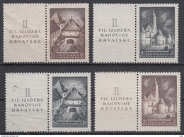 JOEGOSLAVIË - Michel - 1941 - Nr 437/38 Zf + 439/40 Zf - MNH** - 1931-1941 Reino De Yugoslavia