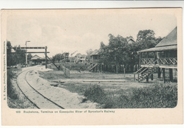 British Guiana / Postcards / Railways - Timbres