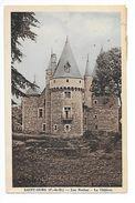 SAINT-OURS  (cpa 63)  Les Roches - Le Château -    - L 1 - France