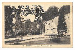 THIERS  (cpsm 63)  Le Square Grammont -    - L 1 - Thiers
