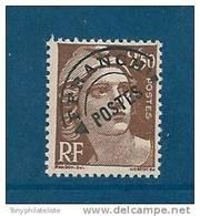 France Preo Type Gandon  N°95  2f50 Brun  Neuf ** Luxe - 1893-1947