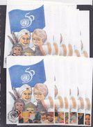 United Nations Geneva 1995 50Y Uno 12 Maxicards (37070) - Maximumkaarten