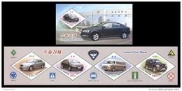 North Korea 2016 Mih. 6274/77 Cars Of Pyeonghwa Motors (booklet) MNH ** - Korea, North