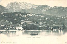 Talloires - Lac D'Annecy (Edit. Jullien Frères N°890) - Talloires
