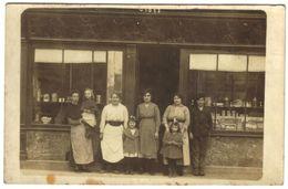 Carte Photo - Devanture D'un Commerce, Boulangerie Patisserie Confiserie Bombons, Gateaux… - Negozi