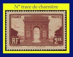 N° 258 PARIS ARC DE TRIOMPHE 1929 - N* TRACE DE CHARNIÈRE - - France