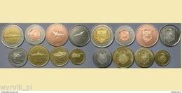 CRIMEA 2014 Set Of 8 Coins WAR MACHINES - Munten