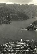 Como (Lombardia) Veduta Aerea Dello Stadio Sinigaglia E Del Primo Bacino - Como
