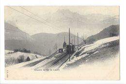 17919 - Chemin De Fer De Leysin En Hiver Train - VD Vaud