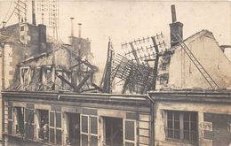 ¤¤  -  Carte-Photo Non Située  -  Incendie D'une Maison  -  Pompier à La Fenêtre    -  ¤¤ - Sapeurs-Pompiers
