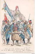 2636  Dessin  Lma Mère Patrie G Ripart Gaston Doumergue Le 24 Mars 1916 - Autres Illustrateurs
