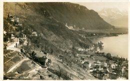SWITZERLAND - PontFleuri Chillon Les Dts Du Midi 1925 - VD Vaud