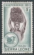Sierra Leone. 1961 Independence. ½d MH. SG 223 - Sierra Leone (1961-...)