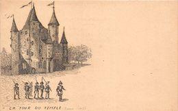 ¤¤  -  PARIS  -  Ancien Paris  - La Tour Du Temple  -  Illustrateur      -  ¤¤ - Arrondissement: 03