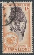 Sierra Leone. 1961 Independence. 1/- Used. SG 230 - Sierra Leone (1961-...)