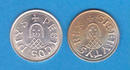 REINO VISIGODO (415-711) SISEBUTO (612-621) TREMIS(Triente) Oro-Réplica   T-DL-12.150 - Monedas Falsas