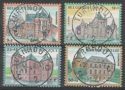 2193/2196 Kastelen/Chateaux Oblit/gestp  Centrale - Belgique