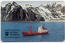 Antartic Armée Army Bateau Télécarte Telefonkarten Phonecard (D.157) - Armée