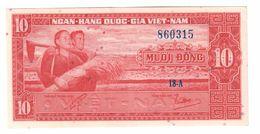 South Vietnam 10 Dong 1962 UNC - Viêt-Nam