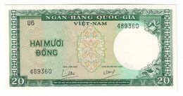 South Vietnam 20 Dong 1964 UNC - Vietnam