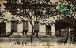 RARE SCLOS DE CONTES ECOLE COMMUNALE - France