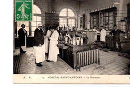 Paris : Hôpital Saint-Antoine : La Pharmacie - Santé, Hôpitaux