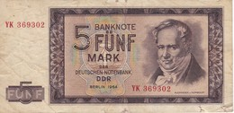 BILLETE DE ALEMANIA DE 10 MARCK DEL AÑO 1964  (BANKNOTE) - 5 Mark