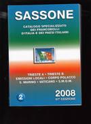 SASSONE - Trieste A E B - Emissioni Locali - Cordpo Polacco - S.Marino - Vaticano - SMOM - Italia