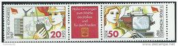DDR 1987 Nuovo** - Mi.3086/7  Yv.2707/8 - [6] Repubblica Democratica