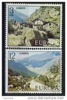 TIMBRE NOUVEAU ANDORRE 1978 EUROPA CEPT PEUPLES MONTAGNES PAYSAGES - Europa-CEPT
