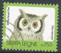 Sierra Leone. 1992 Birds. 750l Used (2000 Imprint Date) SG 1909A - Sierra Leone (1961-...)