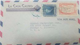 L) 1938 EL SALVADOR,JUAN JOSE CAÑAS, AUTHOR OF THE LETTER OF THE NATIONAL HYMN OF EL SALVADOR, 8 CENTS, AIR MAIL - El Salvador