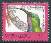 Sierra Leone. 1992 Birds. 200l Used (No Imprint Date) SG 1905B - Sierra Leone (1961-...)