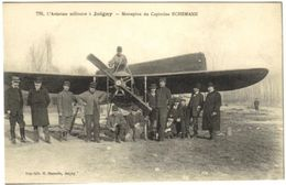 Cpa - L'aviation Militaire à Joigny - Monoplan Du Capitaine Echemann Avion Aviateur - Joigny