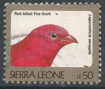 Sierra Leone. 1992 Birds. 50l Used (1997 Imprint Date) SG 1900B - Sierra Leone (1961-...)