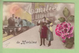 Florennes : Amitiés De MORIALME. Peu Courant. 2 Scans. Edition Arissé - Florennes
