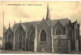 CPA N°12450 - SAINT HERBLAIN - L' EGLISE, PRISE DU SUD - Saint Herblain