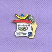 Rare Pins France Telecom Olympique Barcelone Espagne 1992 H726 - France Telecom