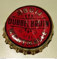Vieille Capsules Kroonkurk Dubbel Bruin Brasserie Abdij Westmalle - Bière