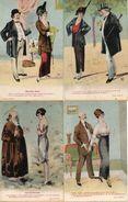 Illustrateur RG, Lot De 10 Cartes Allusion Coquine Humour Femme Vieux Beaux - Illustrators & Photographers