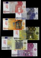 EURO-Satz, Billet Scolaire, Edukativ-Spiel-Theatergeld, Paper Set EUROS, Training, Polen,  RRR, UNC, Eins. - EURO