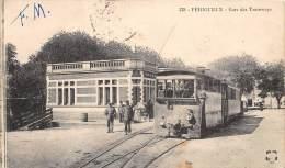 24 - DORDOGNE / Périgueux - 24687 - Gare Des Tramways - Très Beau Plan - Périgueux