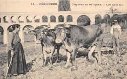 24 - DORDOGNE / Périgueux - 24688 - Paysans En Périgord - Labour - Beau Cliché Animé - Périgueux