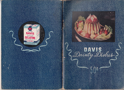 Vintage 1948 Davis Dainty Recipes - Gelatine Jelly - 68 Pages (many In Colors) - 4 Scans - Good Condition - Cooking, Food, Wine