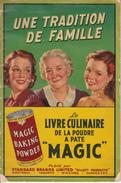 Vintage 1930-1935 Cook Book - Magic Powder Recipes - Livre Recettes Poudre Magique - 52 Pages - 4 Scans - Good Condition - Gastronomie