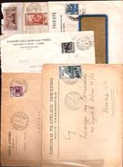 108  - LOTTO LETTERE CON SINGOLI A.M.G.F.T.T. - Storia Postale