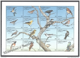 Georgie - Georgia 1996 Yvert 159-174, Fauna. Birds - MNH - Georgia