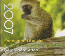 United Nations - Folder Endangered Species - Geneva - New York - Vienna - 2007 - Gezamelijke Uitgaven New York/Genève/Wenen