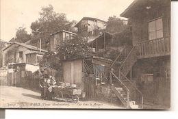 PARIS ( Vieux Montmarte ) - Vue Dans Le Maquis ( Marchande De 4 Saisons ) - Distretto: 18
