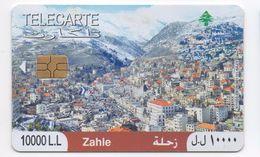 Zahle 2010 Used Phonecard Lebanon , Liban Telecarte Libanon - Lebanon